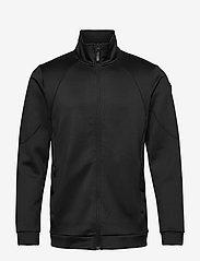 O'Neill - PM RIDERS TECH FZ FLEECE - basic-sweatshirts - black out - 0