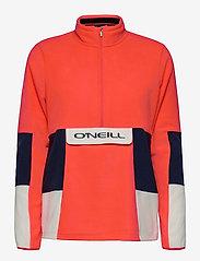 O'Neill - PW O'RIGINALS FLEECE HZ - fleece - fiery coral - 0