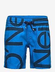 PB CALI ZOOM SHORTS - BLUE AOP W/ BLUE