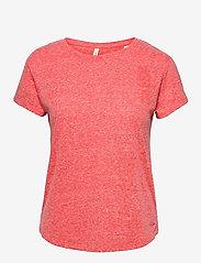 O'neill - LW ESSENTIALS T- SHIRT - t-shirts - hot coral - 0