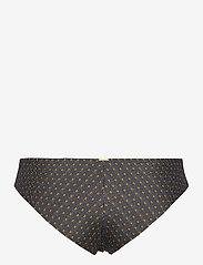 O'neill - PW MAOI  BOTTOM - majtki bikini - black aop w/ yellow - 1