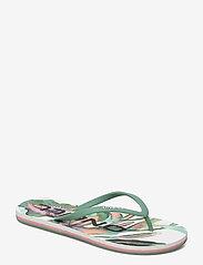O'Neill - FW PROFILE GRAPHIC SANDALS - sport schoenen - white aop w/green - 0