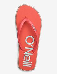 O'Neill - FW PROFILE LOGO SANDALS - sport schoenen - hot coral - 3