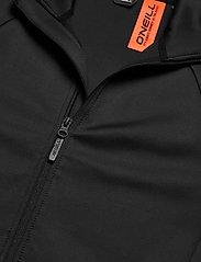 O'Neill - PM RIDERS TECH FZ FLEECE - basic-sweatshirts - black out - 2