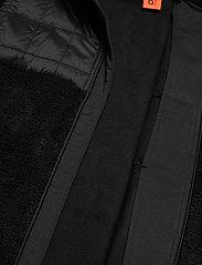 O'Neill - PM BAFFLE MIX FZ FLEECE - perus-college-paitoja - black out - 3
