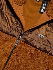 O'Neill - PM BAFFLE MIX FZ FLEECE - basic-sweatshirts - glazed ginger - 2