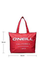 O'neill - BW LOGO TOTE - tote bags - cayenne coral - 4