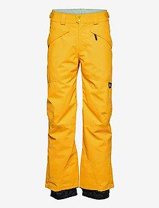PM HAMMER PANTS - skiing pants - old gold