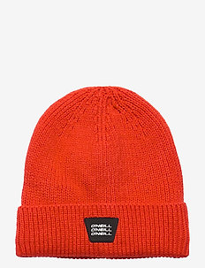 BM BOUNCER BEANIE - beanies - fiery red