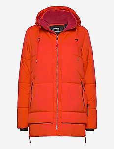 PW AZURITE JACKET - laskettelutakki - fiery red