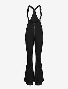 PW O'RIGINALS BIB PANTS - skibroeken - black out