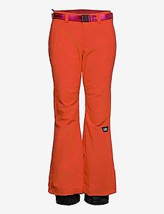 PW STAR SLIM PANTS - pantalons de ski - fiery red