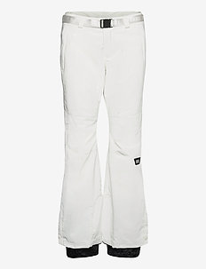 PW STAR SLIM PANTS - skibroeken - powder white