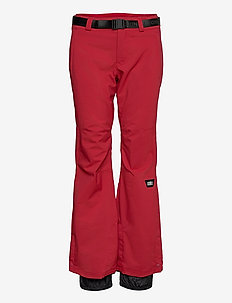 PW STAR SLIM PANTS - skibroeken - rio red