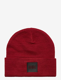 BW TRIPLE STACK BEANIE - mössor - rio red