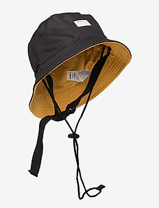 BM REVERSIBLE BUCKET SUP HAT - bucket hats - black out