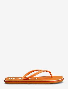 FW PROFILE LOGO SANDALS - sko - papaya