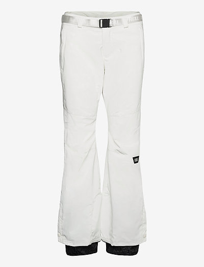 PW STAR SLIM PANTS - skibukser - powder white