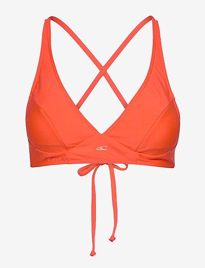 PW KAILUA SUPERKINI TOP - trekant-bikini - mandarine
