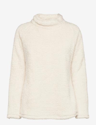Hazel Fleece - bluzy i bluzy z kapturem - birch