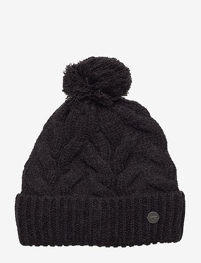 Nora Wool Beanie - kapelusze - blackout - a