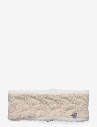 Nora Wool Headband - opaski na głowę - powder white