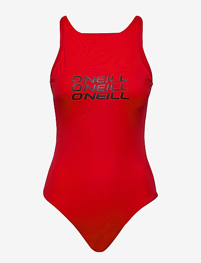 Logo Swimsuit - sport-bademode - paprika