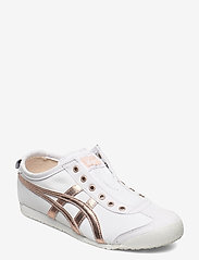 Onitsuka Tiger - MEXICO 66 SLIP-ON - sneakers - white/rose gold - 0