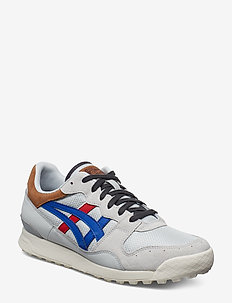 TIGER HORIZONIA - låga sneakers - glacier grey/asics blue