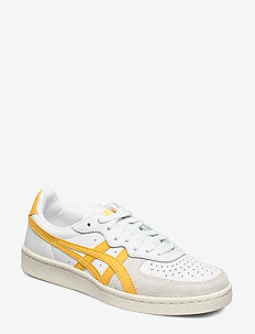 GSM - låga sneakers - white/tiger yellow