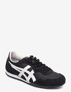 SERRANO - laag sneakers - black/white