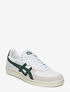 GSM - laag sneakers - white/hunter green
