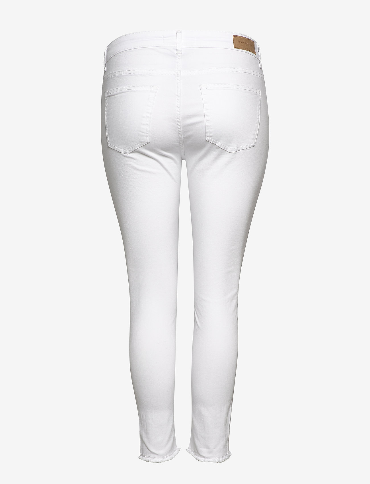 ONLY Carmakoma - CARWILLY  LIFE REG  SK ANK  JEANS WHITE - skinny jeans - white