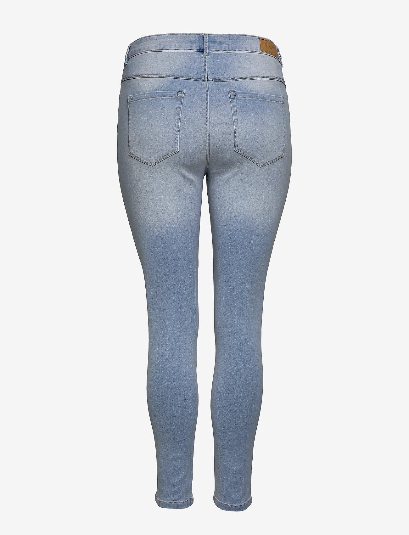 Caraugusta Hw Sk Jeans Bj13333 Lbd Noos (Light Blue Denim) (349 kr) - ONLY Carmakoma