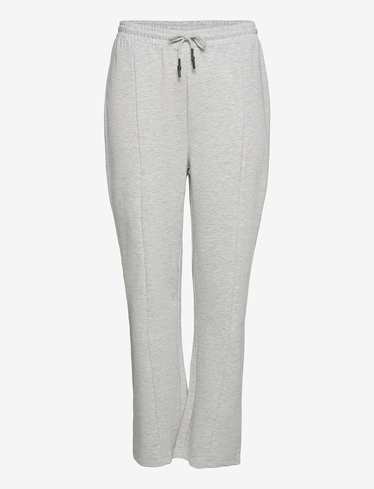 ONLY Carmakoma - CARDELLI LIFE PANTS - sweatpants - light grey melange - 0