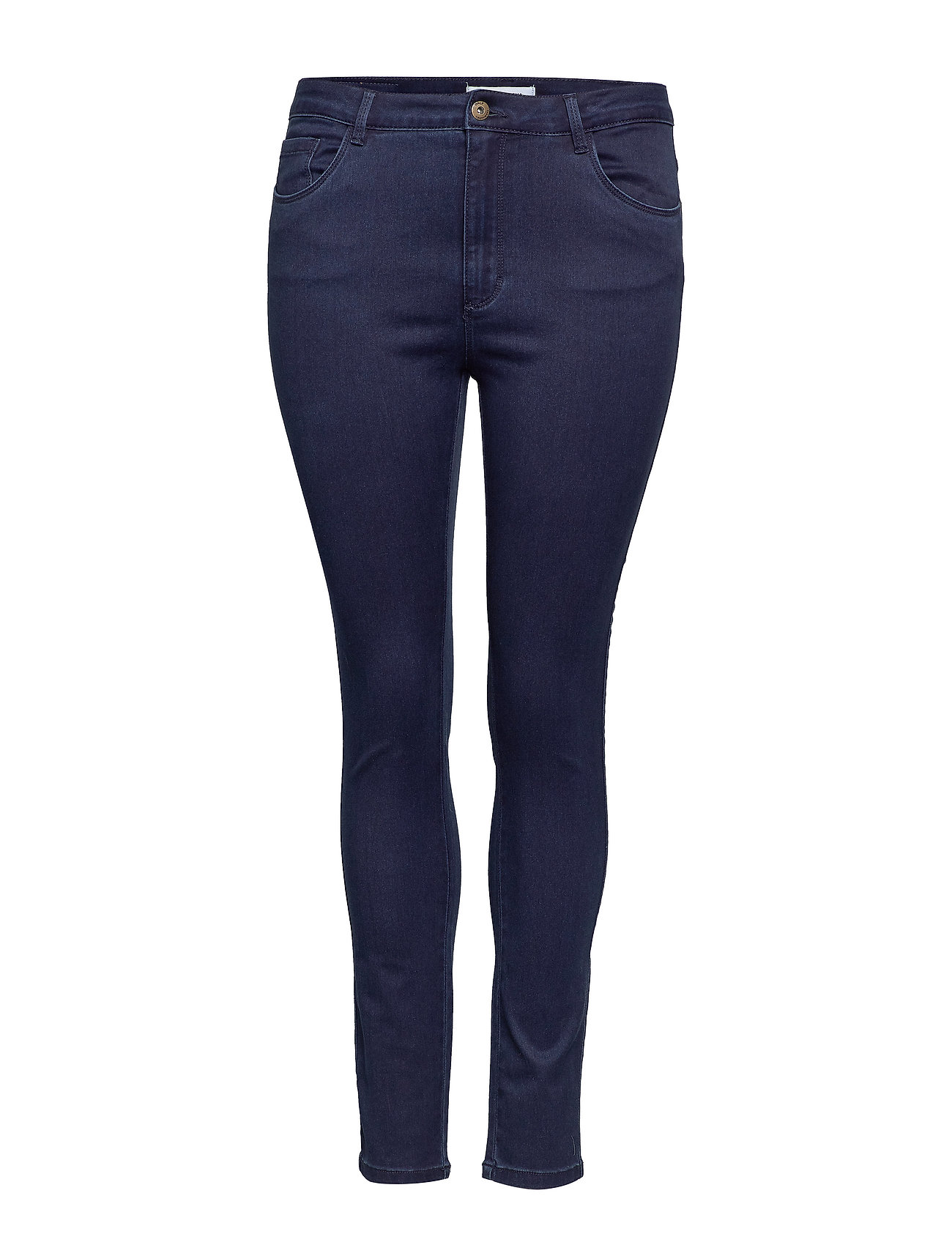 Image of Caraugusta Hw Skinny Jeans Bb Dbd Noos Skinny Jeans Blå ONLY Carmakoma (3220881773)