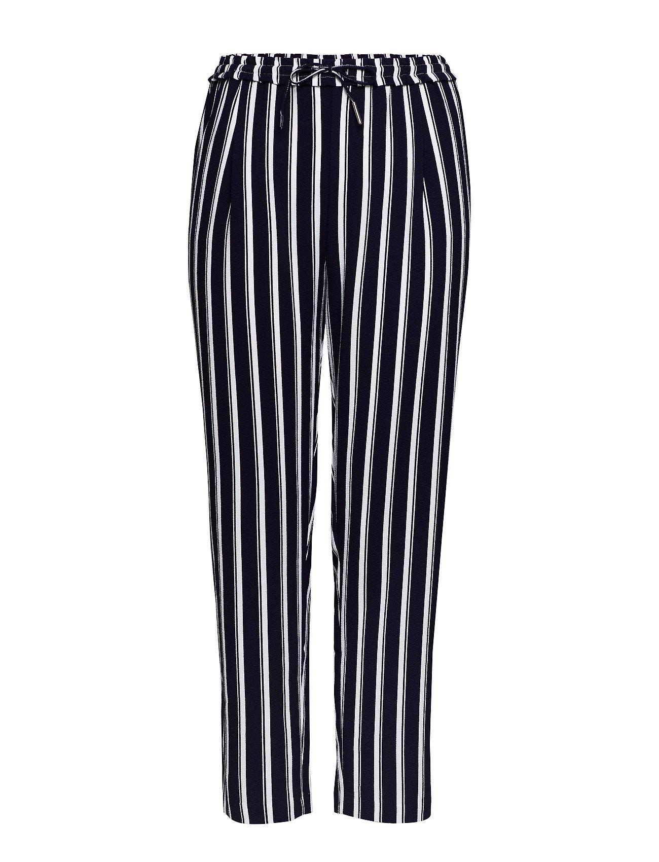 Image of Carcasia Long Pants Bukser Med Lige Ben Blå ONLY Carmakoma (3297444305)