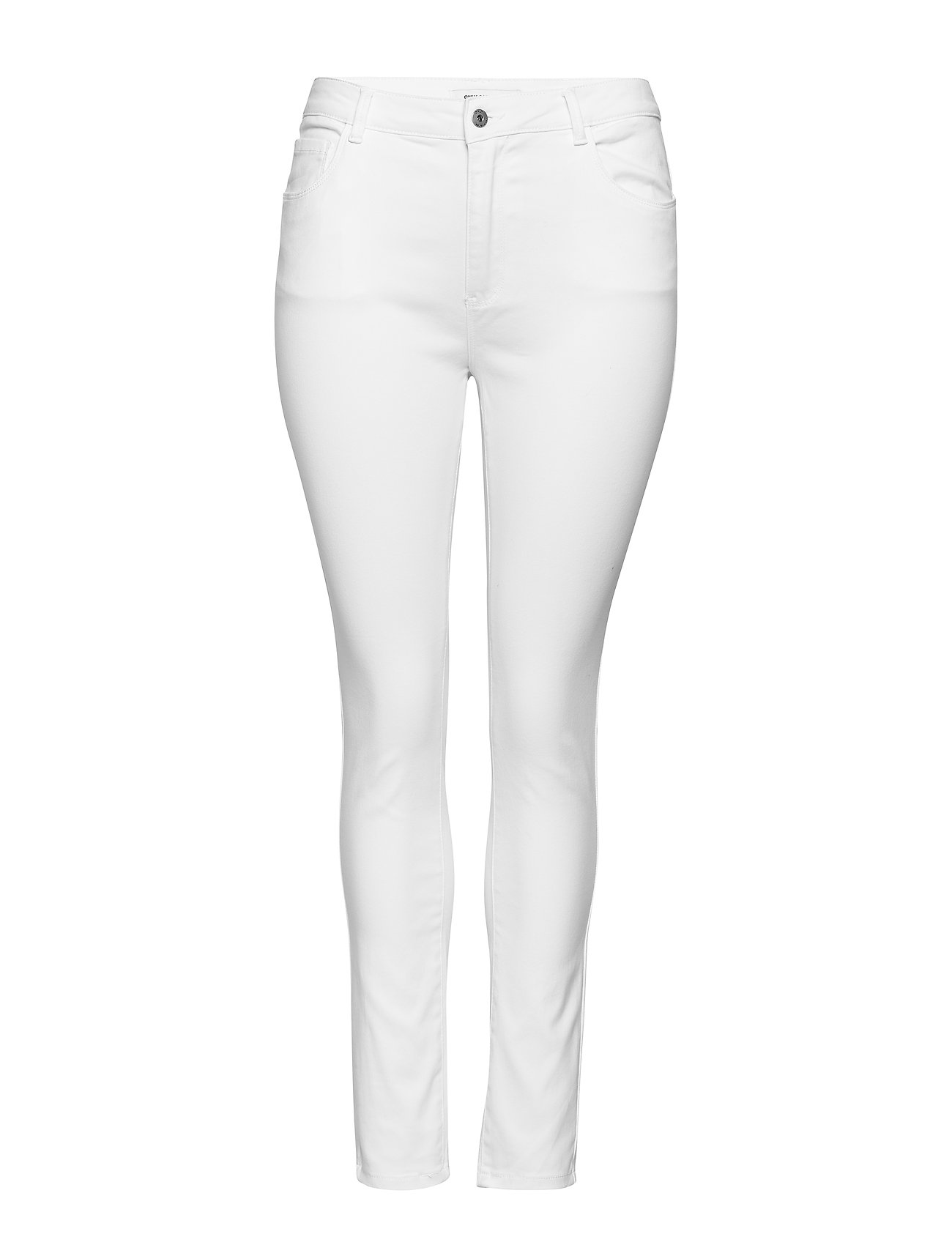 Image of Caraugusta Hw Skinny Jeans White Noos Skinny Jeans Hvid ONLY Carmakoma (3349214685)