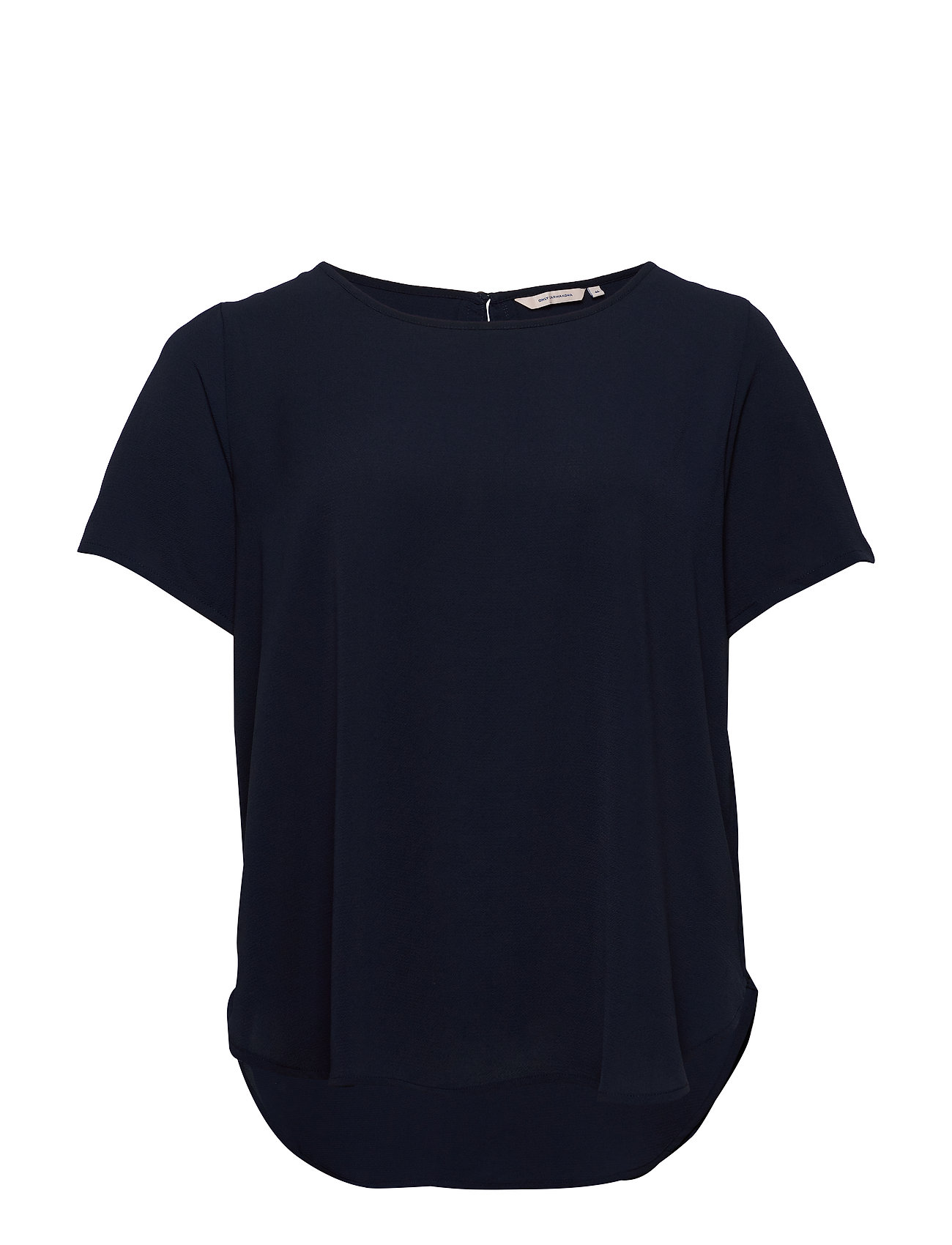 Image of Carluxcam Ss Top Solid T-shirt Top Blå ONLY Carmakoma (3346637741)