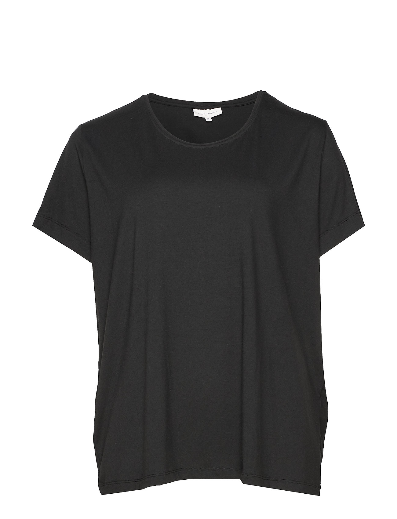 Image of Carcarmakoma S/S Top Noos T-shirt Top Sort ONLY Carmakoma (3298975313)