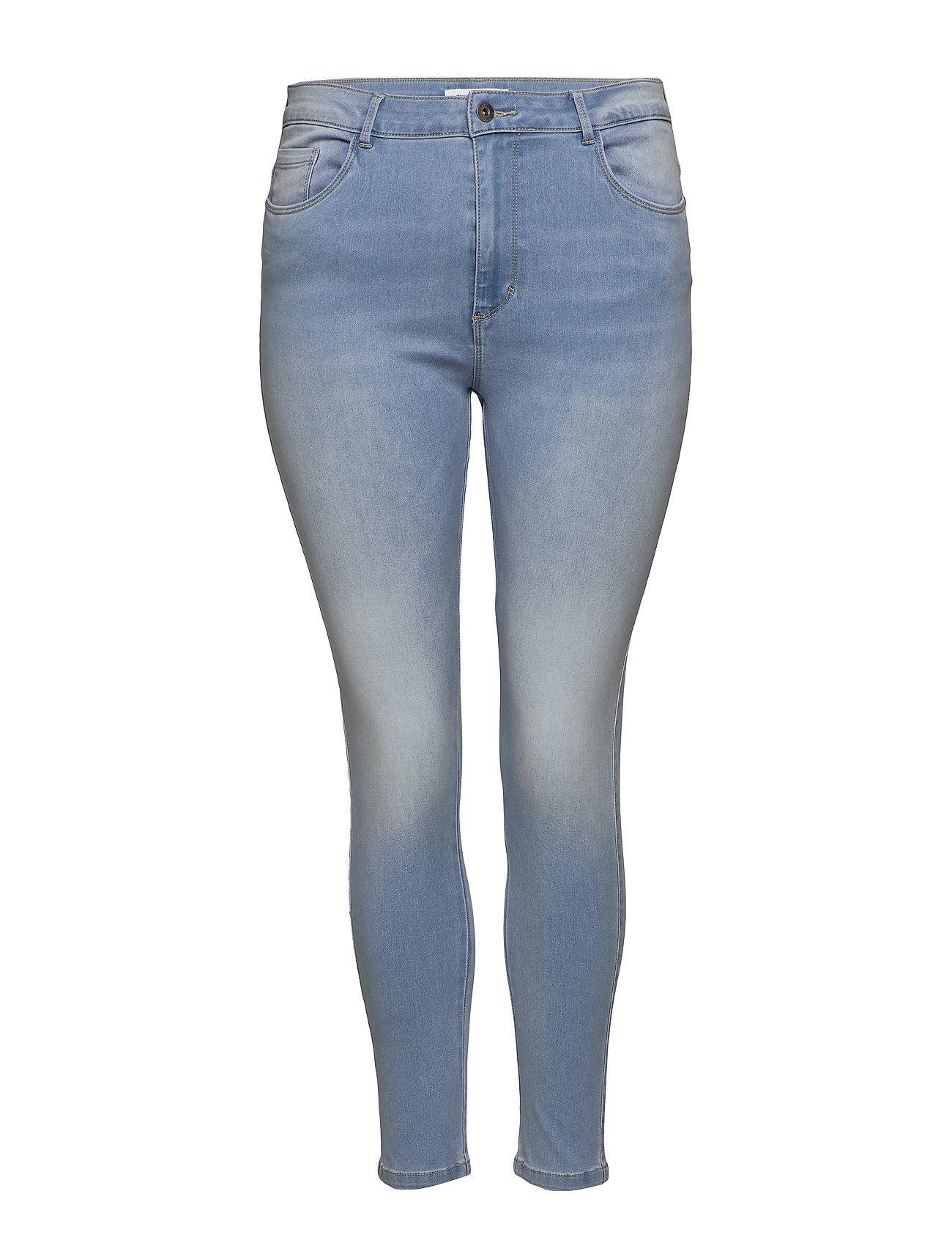 Image of Caraugusta Hw Sk Jeans Bj13333 Lbd Noos Slim Jeans Blå ONLY Carmakoma (3333160297)