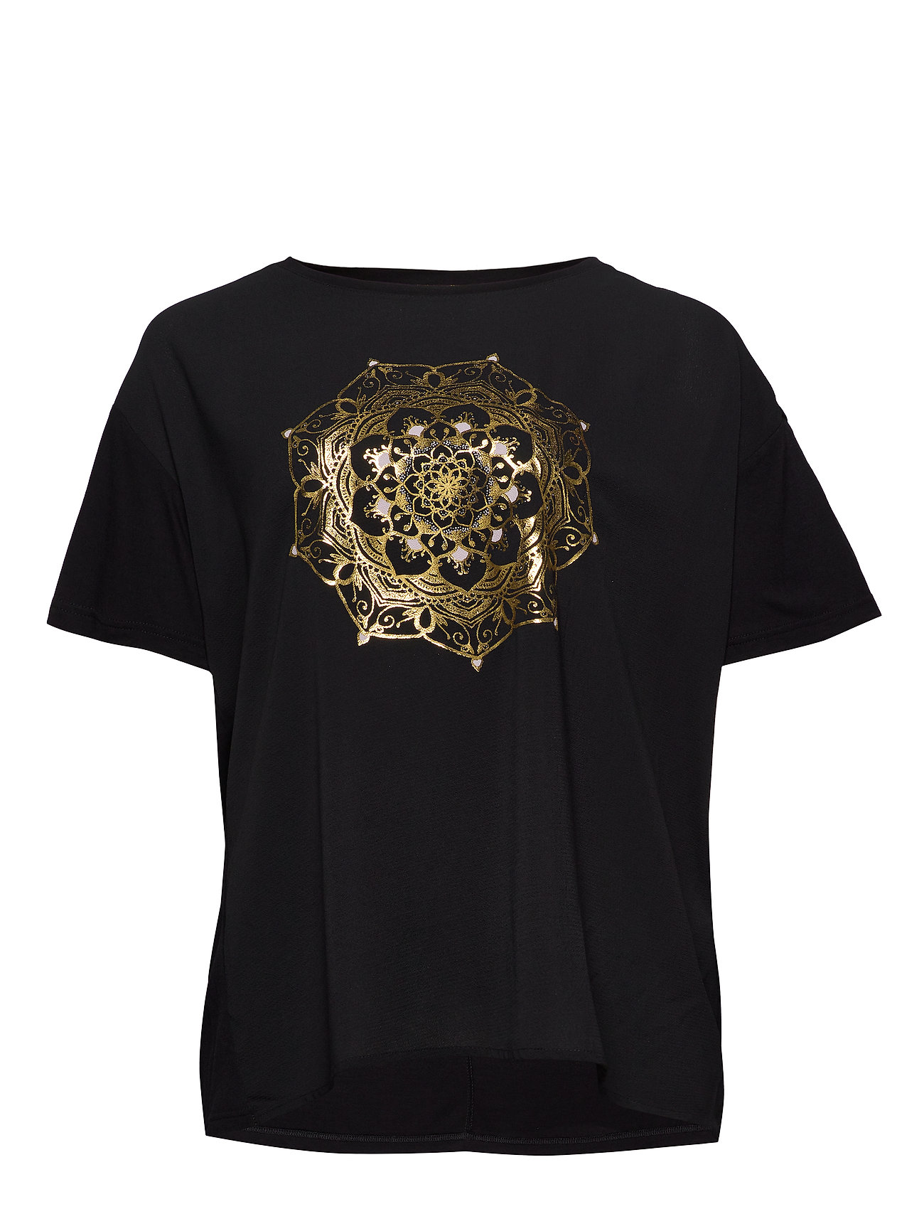 Image of Carart Ss Tee T-shirt Top Sort ONLY Carmakoma (3346638243)