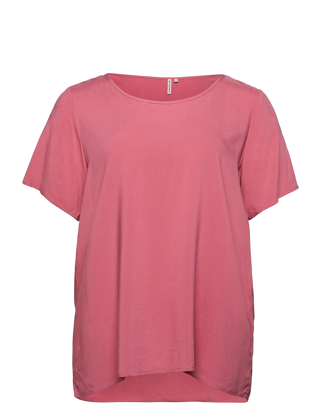 Image of Carfirstly Life Ss Top T-shirt Top Lyserød ONLY Carmakoma (3481873811)