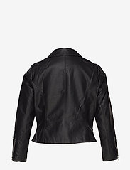 ONLY Carmakoma - CAREMMY FAUX LEATHER BIKER NOOS - leather jackets - black - 3
