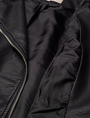 ONLY Carmakoma - CAREMMY FAUX LEATHER BIKER NOOS - leather jackets - black - 6