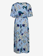 ONLY Carmakoma - CARFLONE 2/4 BAT SLEEVE MAXI  DRESS - wrap dresses - placid blue - 1