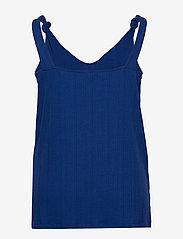 ONLY Carmakoma - CARSOPHIA SL TOP - sleeveless tops - mazarine blue - 1