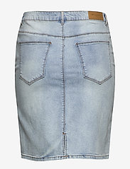 ONLY Carmakoma - CARMILA REG SKIRT - denim skirts - light blue denim - 1