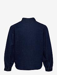 ONLY Carmakoma - CARNADA LIFE  LS SHIRT - jeansblouses - dark blue denim - 1