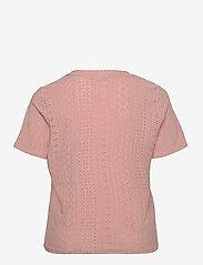 ONLY Carmakoma - CARSILJE SS TOP - t-shirts - adobe rose - 1